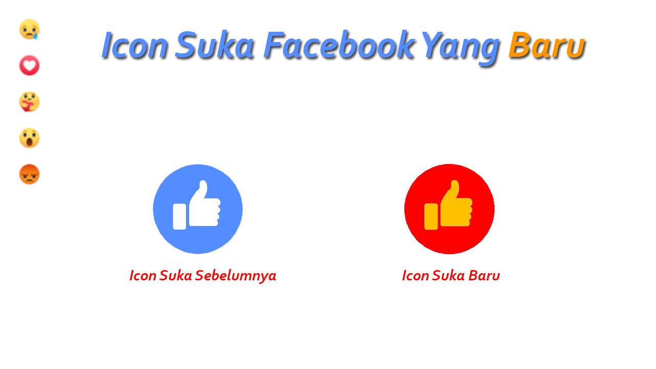 Emoticon Suka Facebook Yang Baru